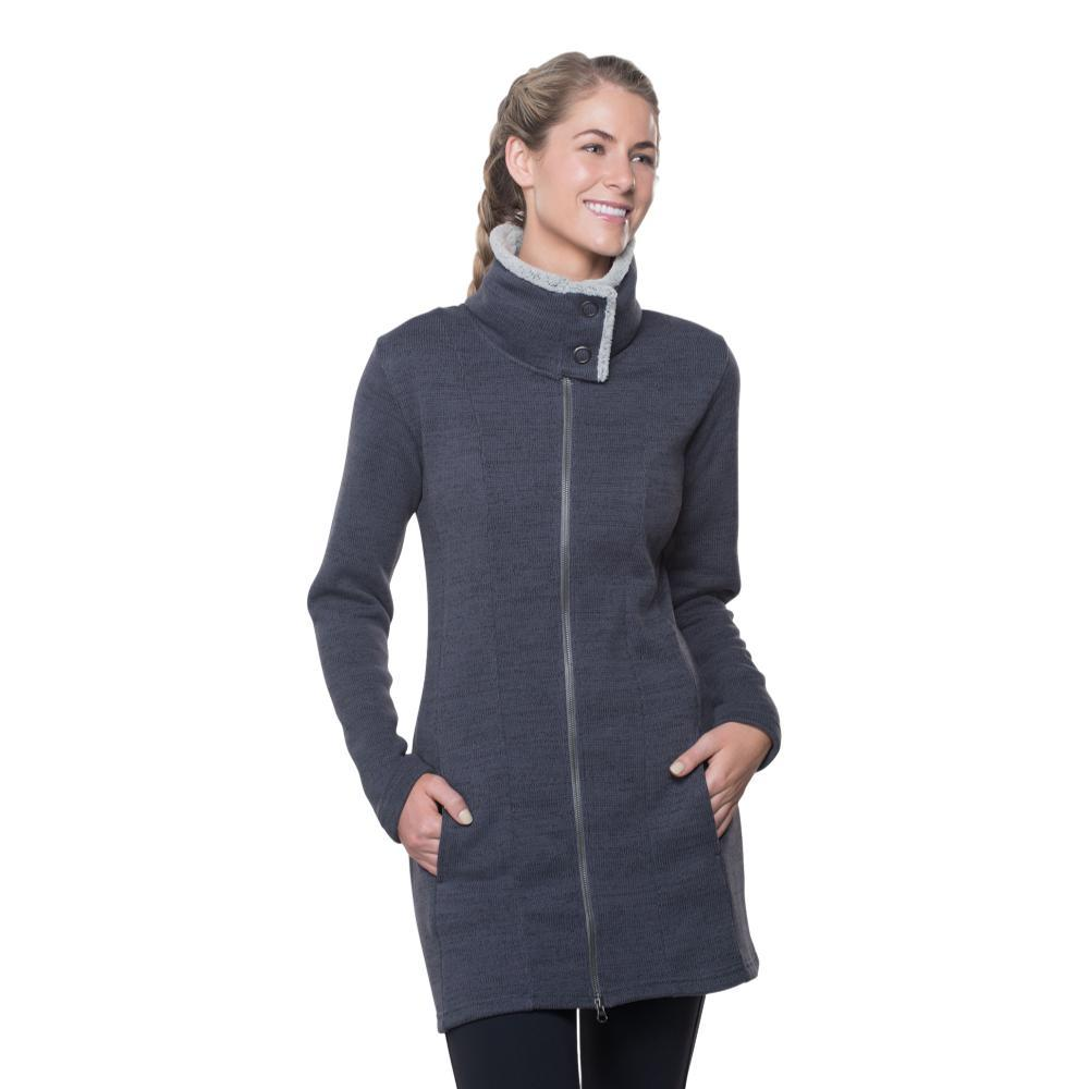 KUHL Women's Alska Long Jacket PAVEMENT