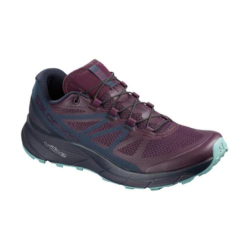 Salomon Women's SENSE RIDE Trail Running Shoes Potpurple