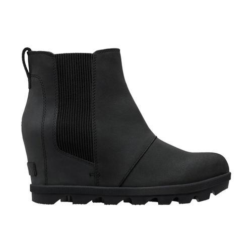 Sorel Women's Joan of Arctic Wedge Chelsea Boots Black