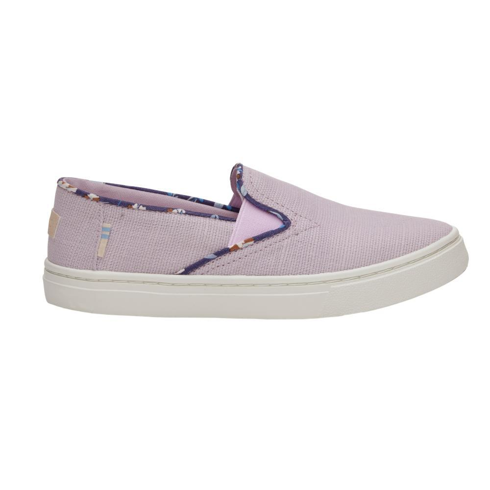 c4b0626fea6 BOTTOM. PAIR. Toms Youth Lavender Heritage Canvas Luca Slip- Ons Item    10012683