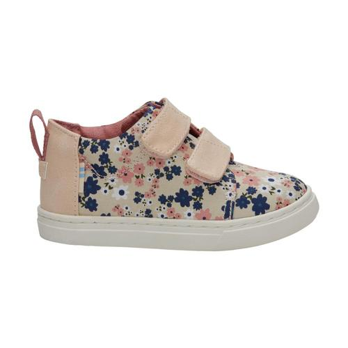 TOMS Kids Birch Retro Floral Tiny Lenny Mid Sneakers