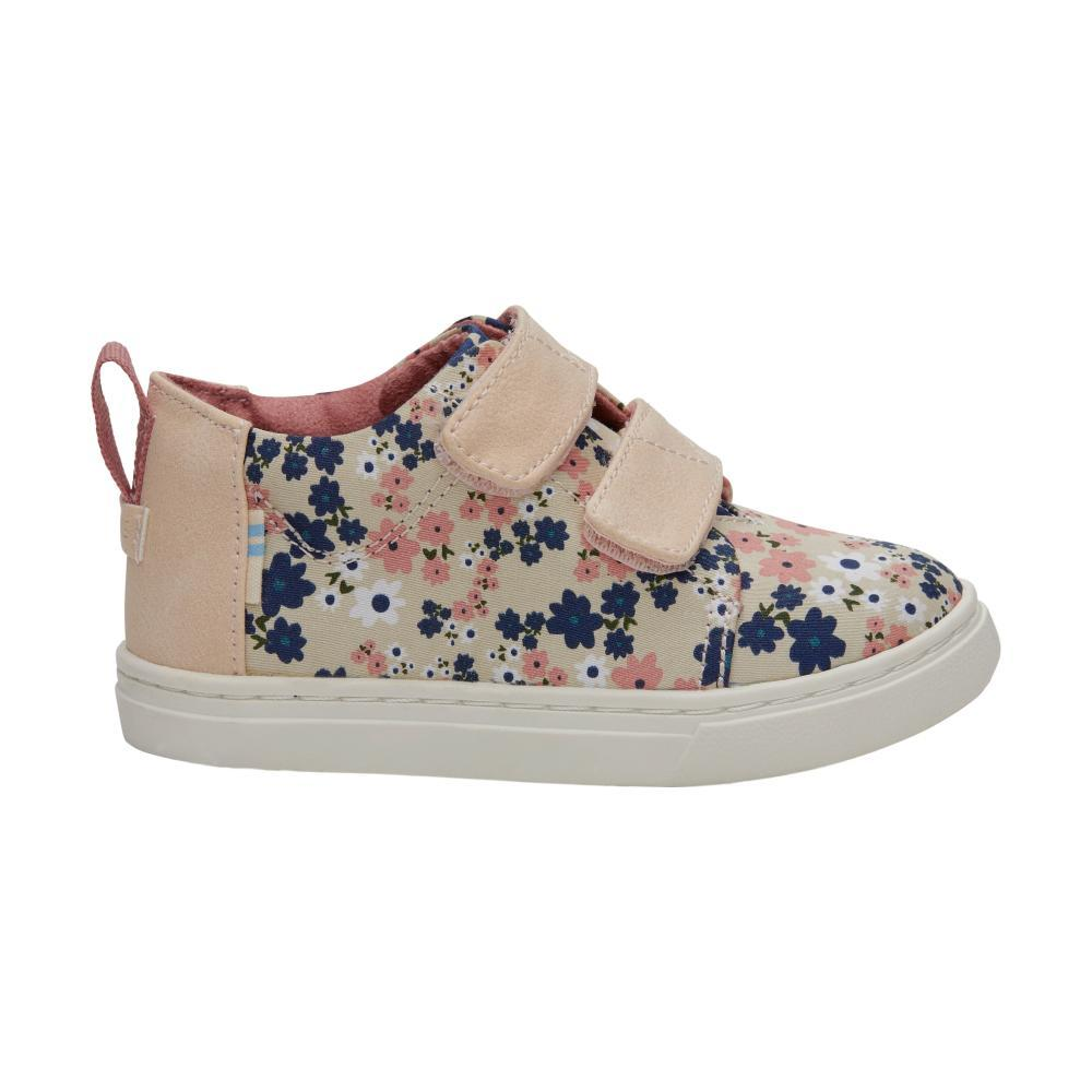 TOMS Kids Birch Retro Floral Tiny Lenny Mid Sneakers FLORAL