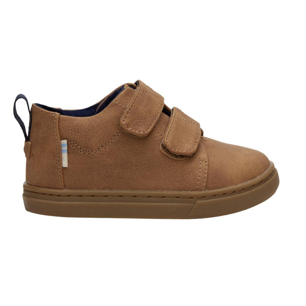 TOMS Kids Light Twig Tiny Lenny Mid Sneakers TWIGSUEDE