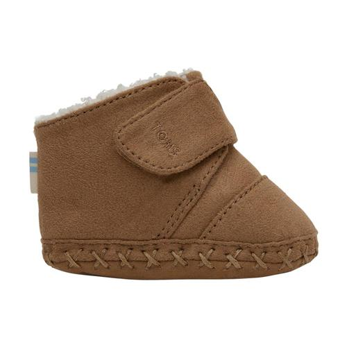 Toms Kids Toffee Microfiber Tiny Cuna Crib Shoes