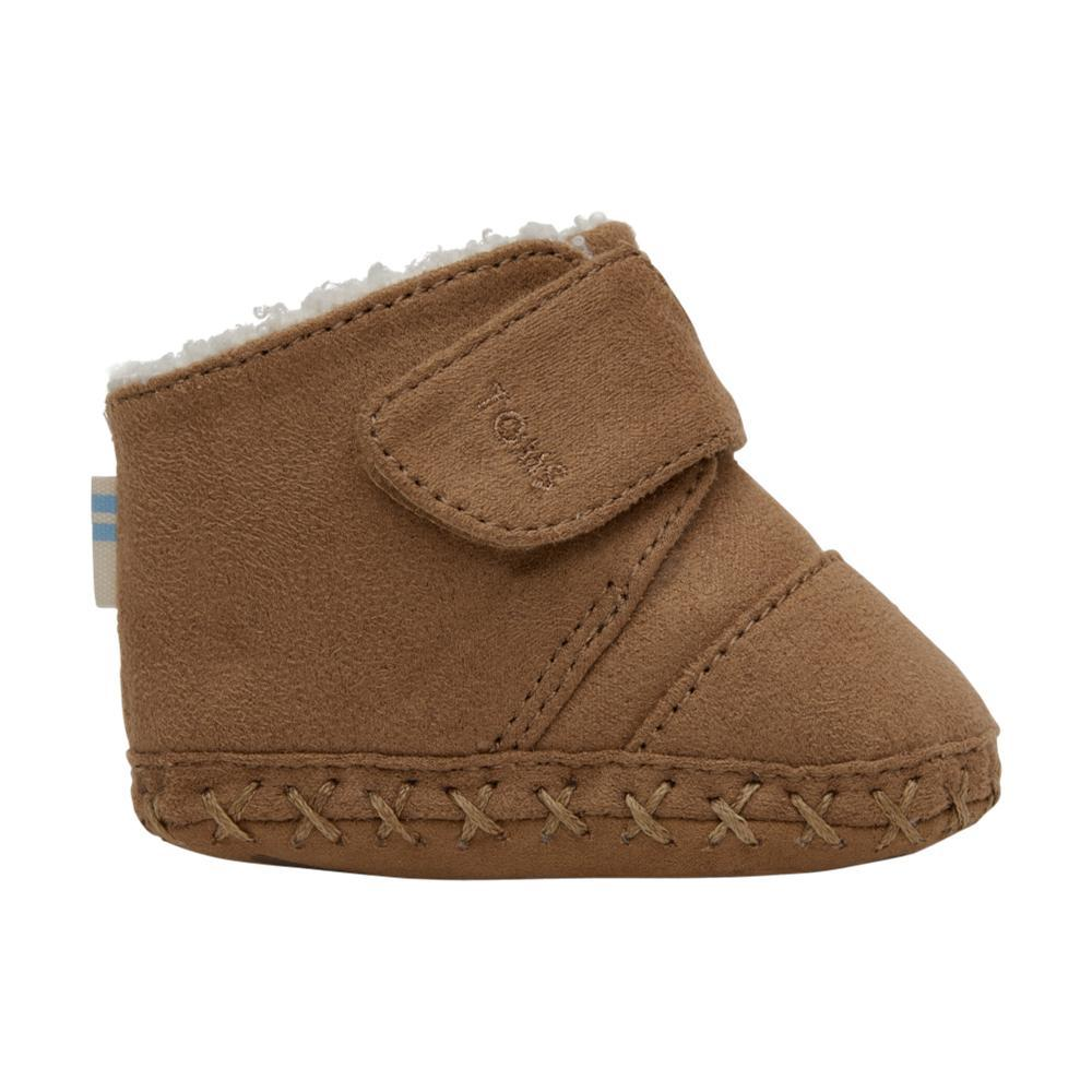 Toms Kids Toffee Microfiber Tiny Cuna Crib Shoes TOFFEE