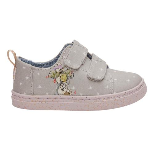 TOMS Youth Disney X Seven Dwarfs Printed Canvas Lenny Sneakers Grey