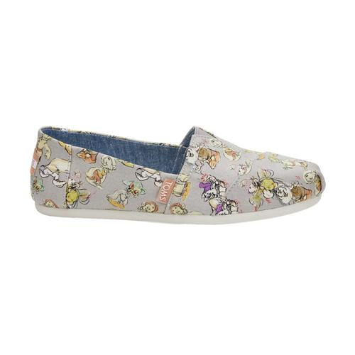 9826b1ffeb2 Toms Shoes TOMS Women s Disney X Grey Seven Dwarfs Classics Alpargatas
