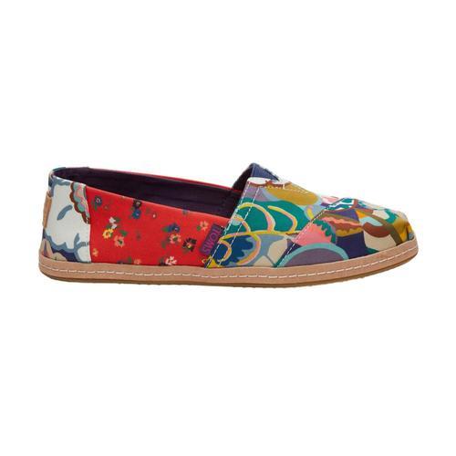 TOMS Women's Floral Liberty Fabrics Classics Alpargatas