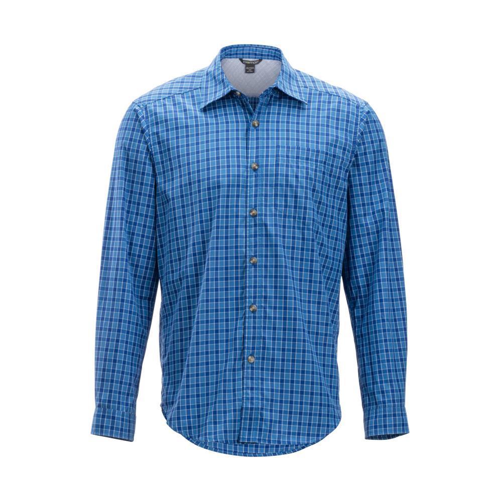 ExOfficio Men's Salida Check Long Sleeve Shirt REGATTA