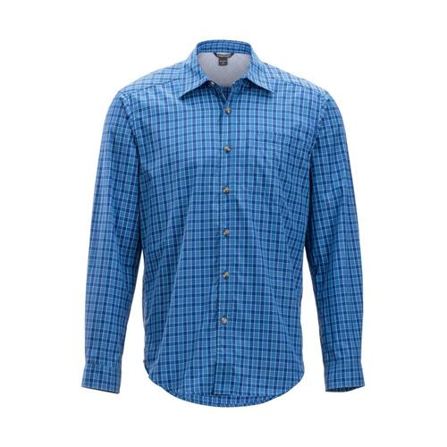 ExOfficio Men's Salida Check Long Sleeve Shirt Regatta