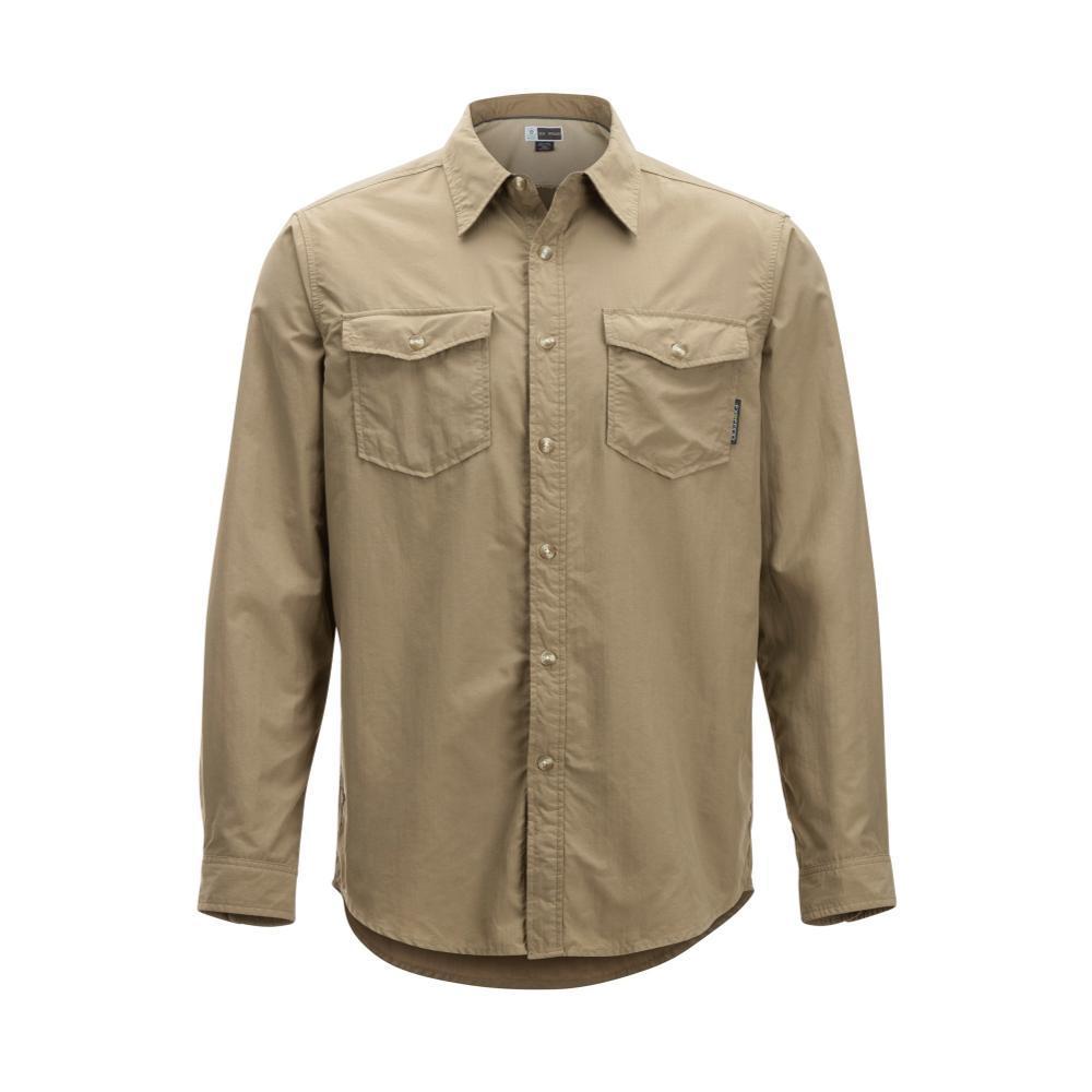 ExOfficio Men's BugsAway Chios Long Sleeve Shirt WALNUT