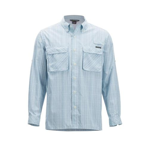ExOfficio Men's Air Strip Ombre Long-Sleeve Shirt Breeze