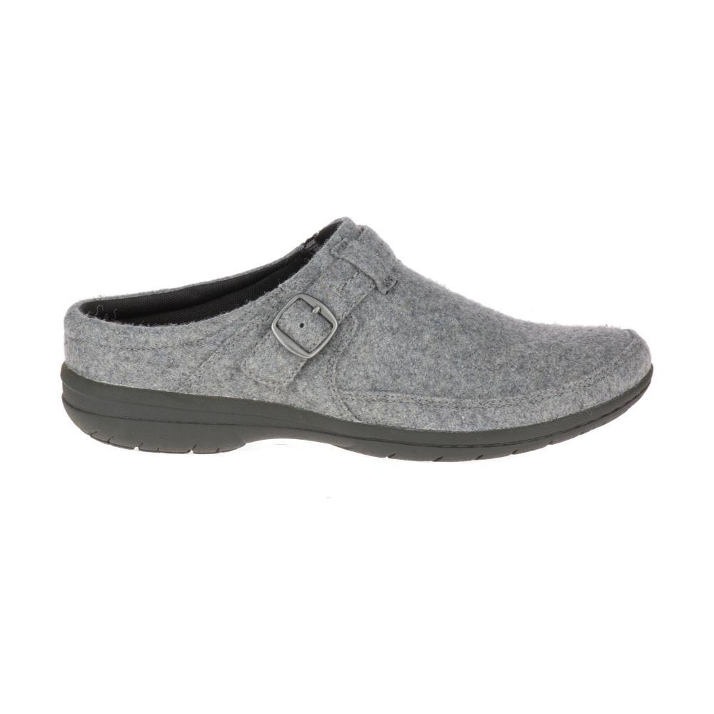 Merrell Women's Encore Kassie Buckle Wool Shoes LIGHTGREY