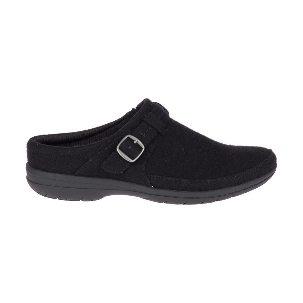 Merrell Women's Encore Kassie Buckle Wool Shoes BLACK