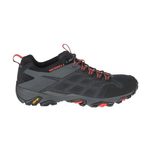 Merrell Men's Moab FST 2 Hiking Shoes Blk.Grnt