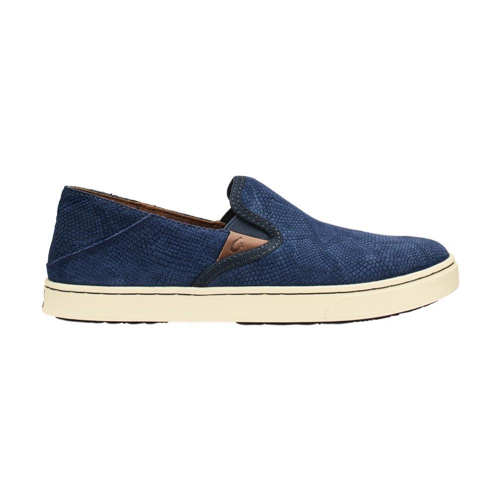 OluKai Women's Pehuea Leather Shoes TRBLU_THDE