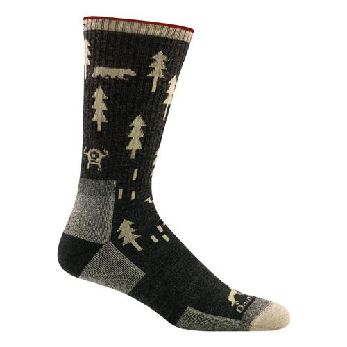 Darn Tough Men's ABC Cushion Boot Socks Black