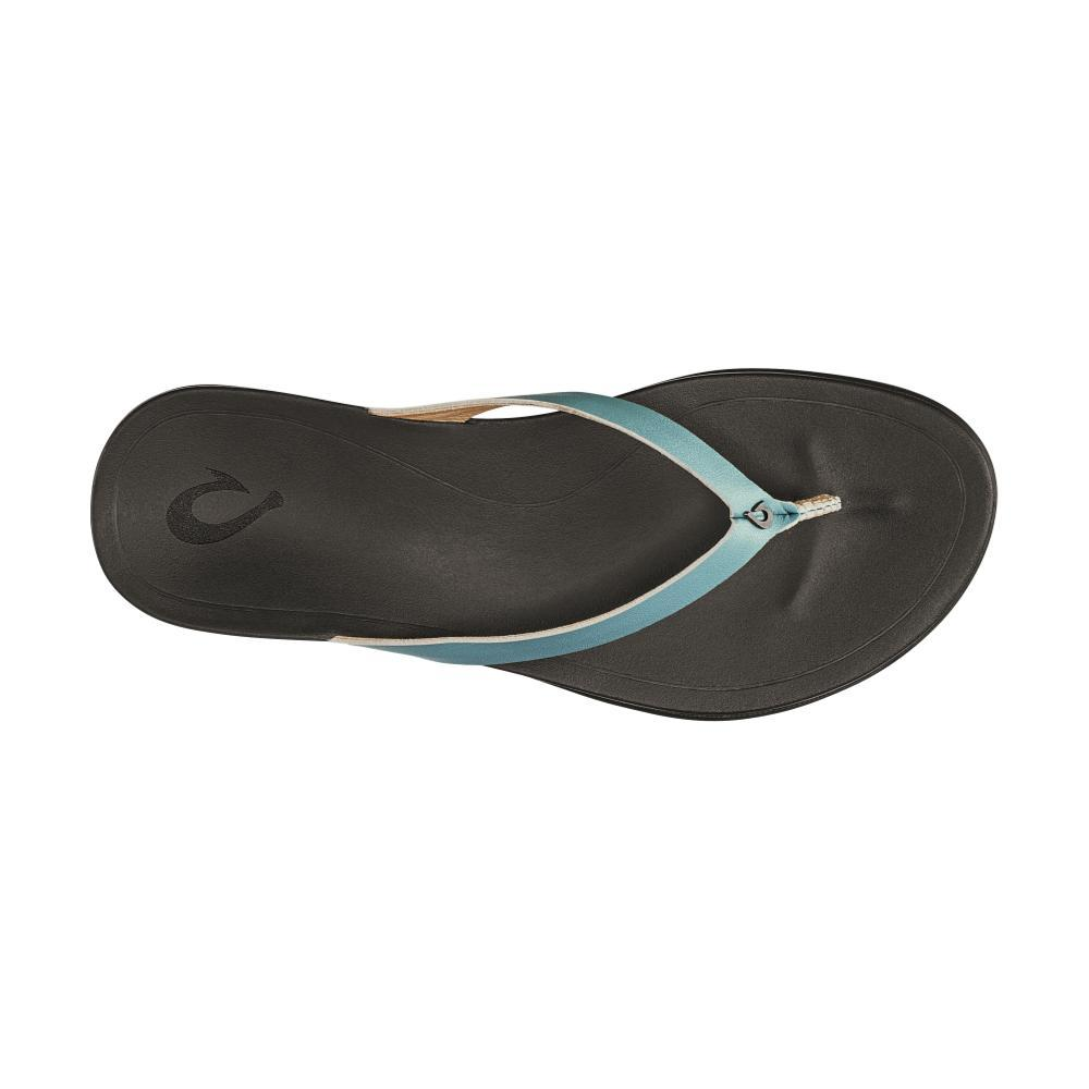 OluKai Women's Ho'opio Leather Sandals MINBLUE