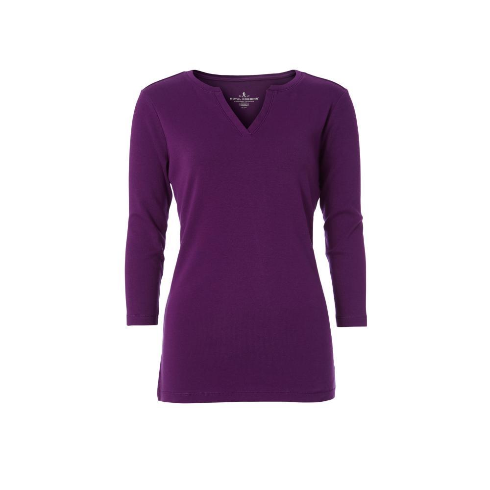 Royal Robbins Women's Kickback Split Henley Shirt