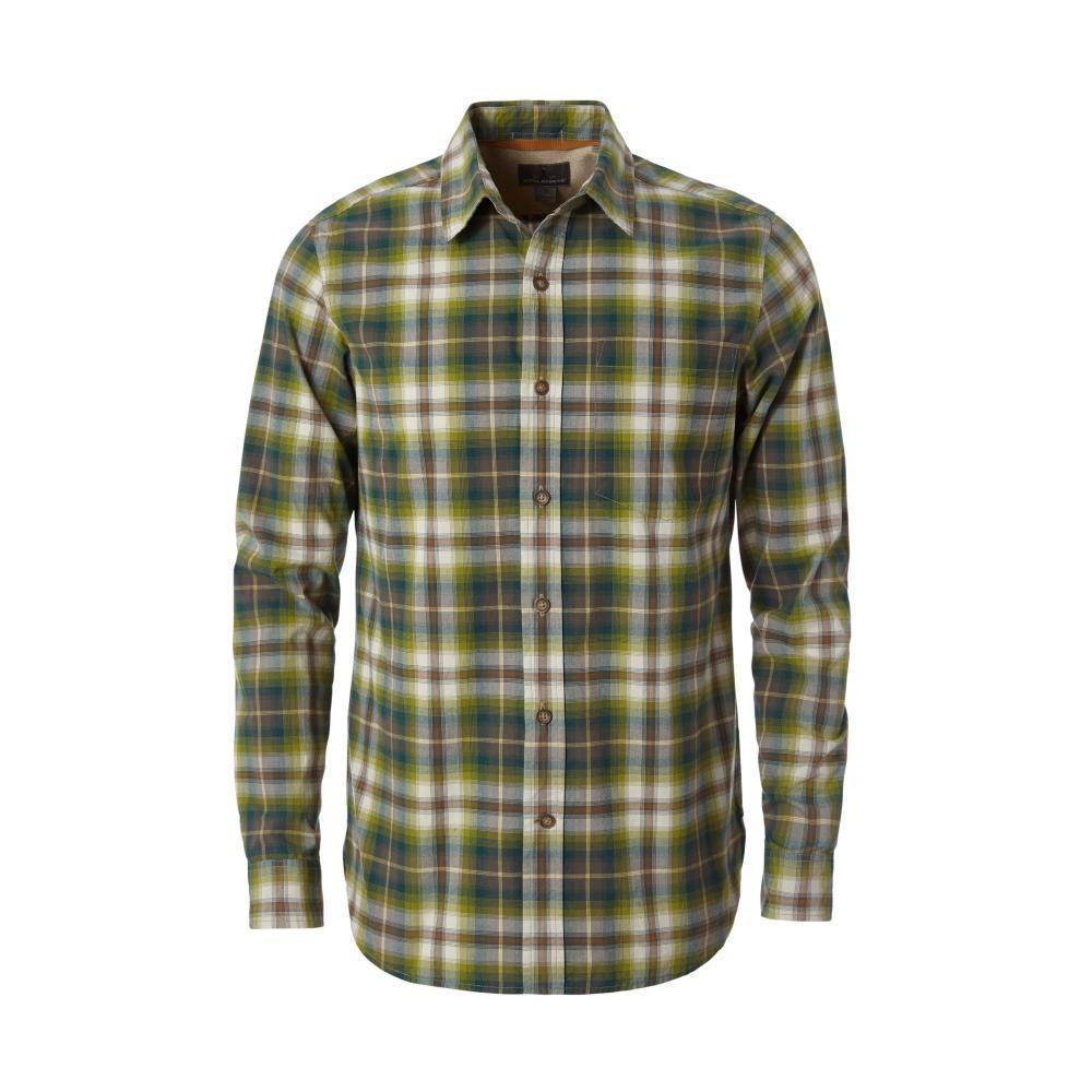 Royal Robbins Men's Trouvaille Plaid Long Sleeve Shirt CLIMBINGIVY