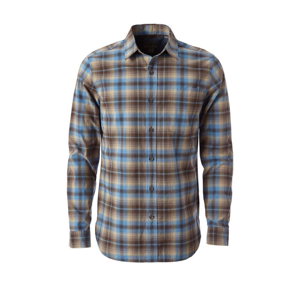 Royal Robbins Men's Trouvaille Plaid Long Sleeve Shirt FALCON