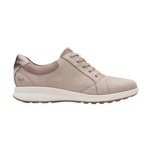 Clarks Women's Un Adorn Lace Shoes Pebble