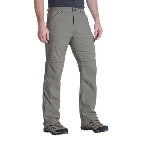 KUHL Men's Renegade Cargo Convertible Pants - 32in Khaki