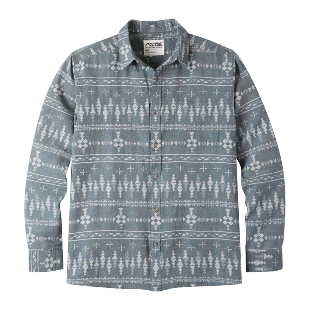 Mountain Khakis Men's Stash Flannel Shirt TWILIGHT