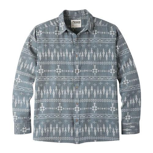 Mountain Khakis Men's Stash Flannel Shirt Twilight