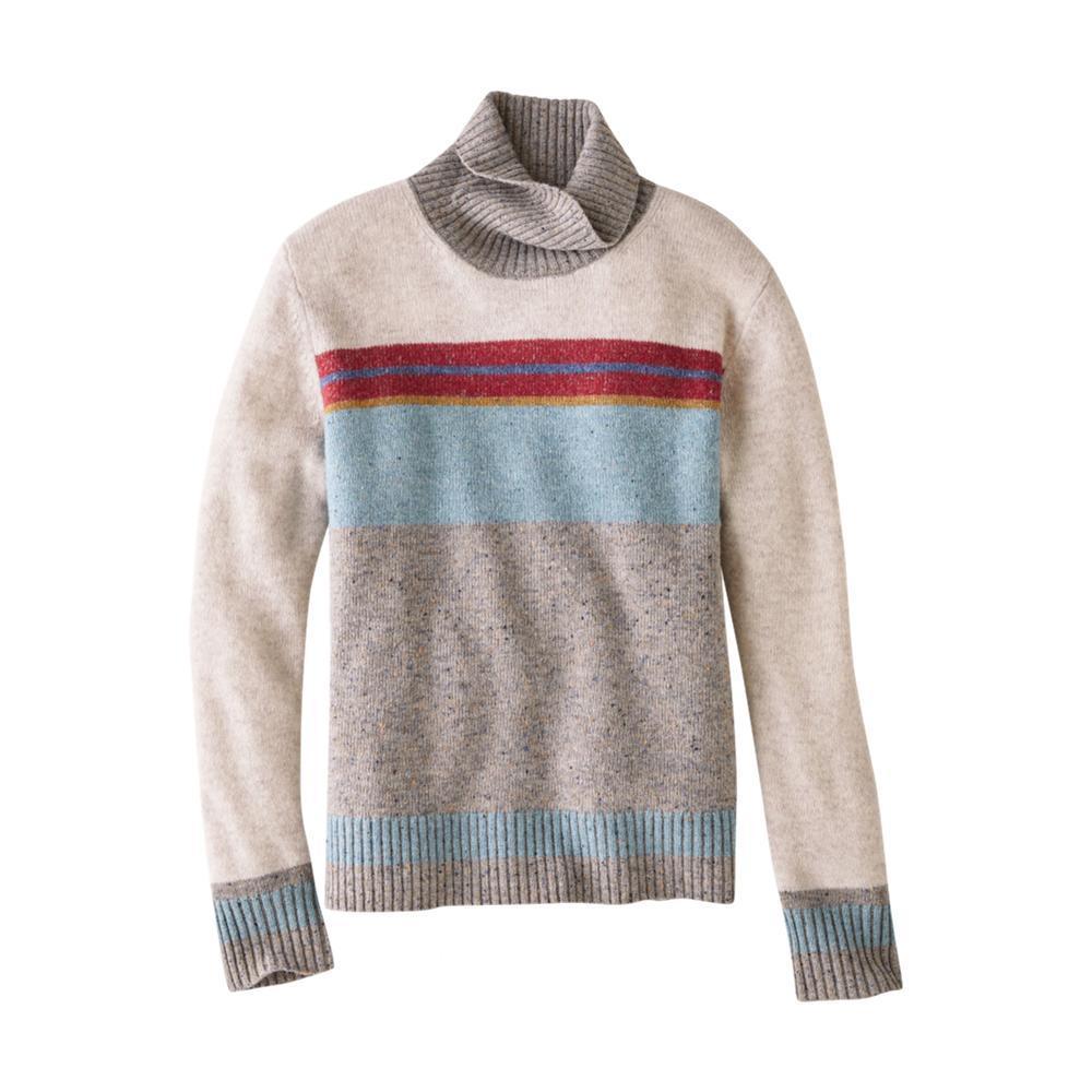 Pendleton Women's Striped Wool Turtleneck TAUPESTRP