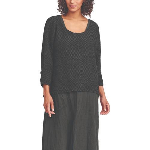 FLAX Women's Whispy Pullover Blackbox