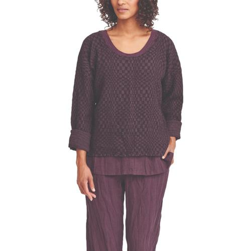 FLAX Women's Whispy Pullover Winebox