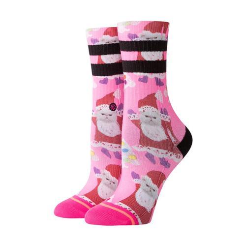 Stance Girls Santipaws Socks Pink