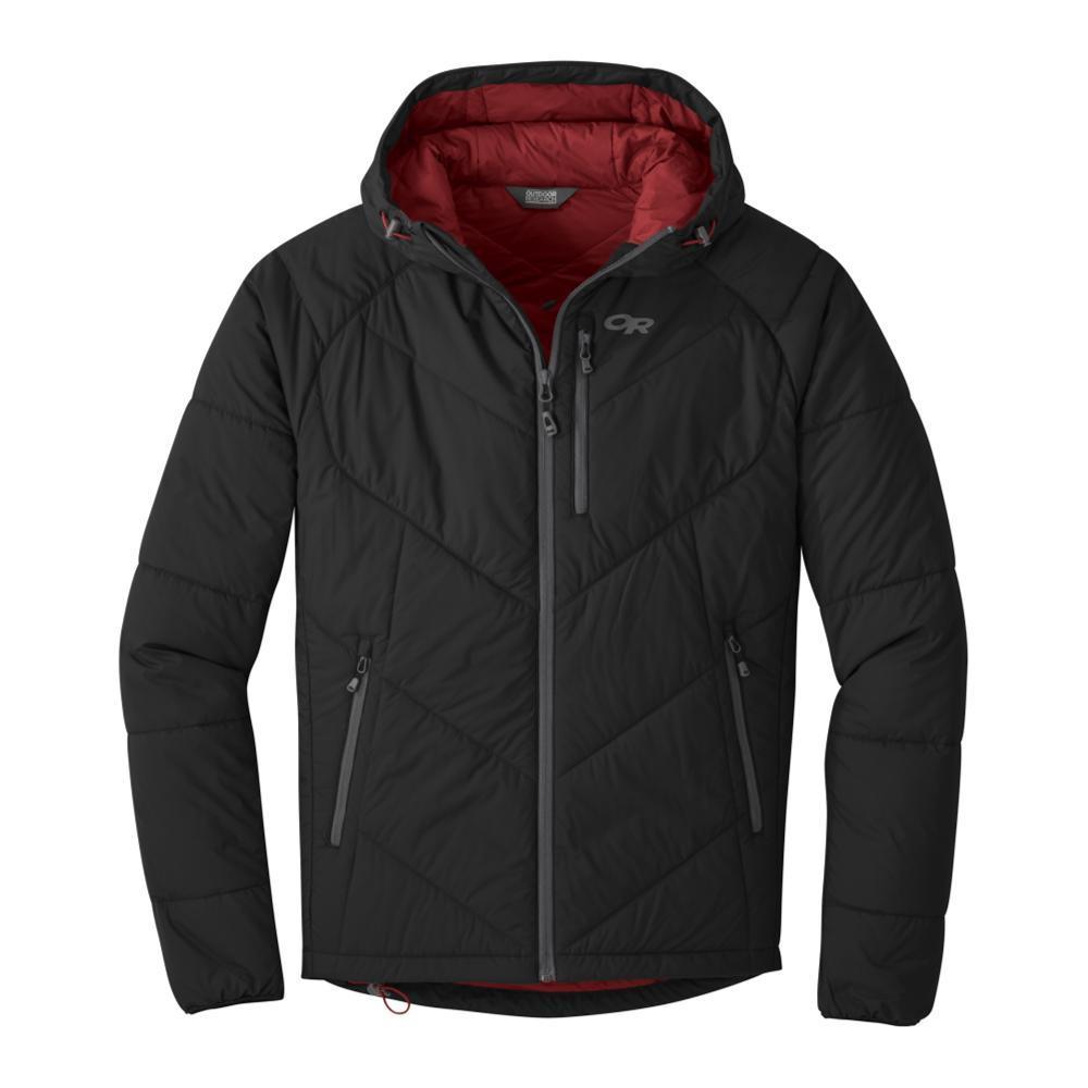 Outdoor Research Men's Refuge Hooded Jacket BLACK_0001