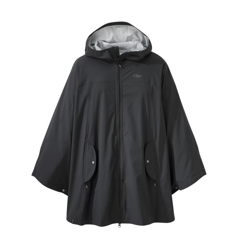 Outdoor Research Women's Panorama Point Poncho BLACK_0001