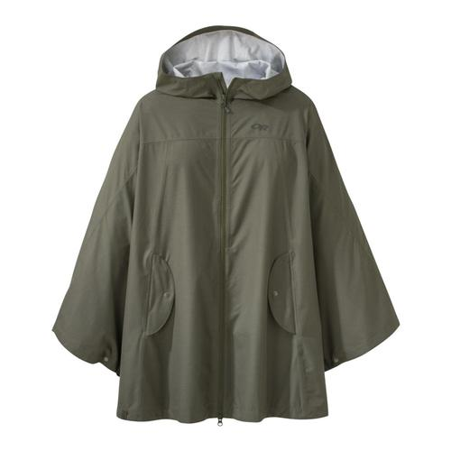 Outdoor Research Women's Panorama Point Poncho Fatigher_1228