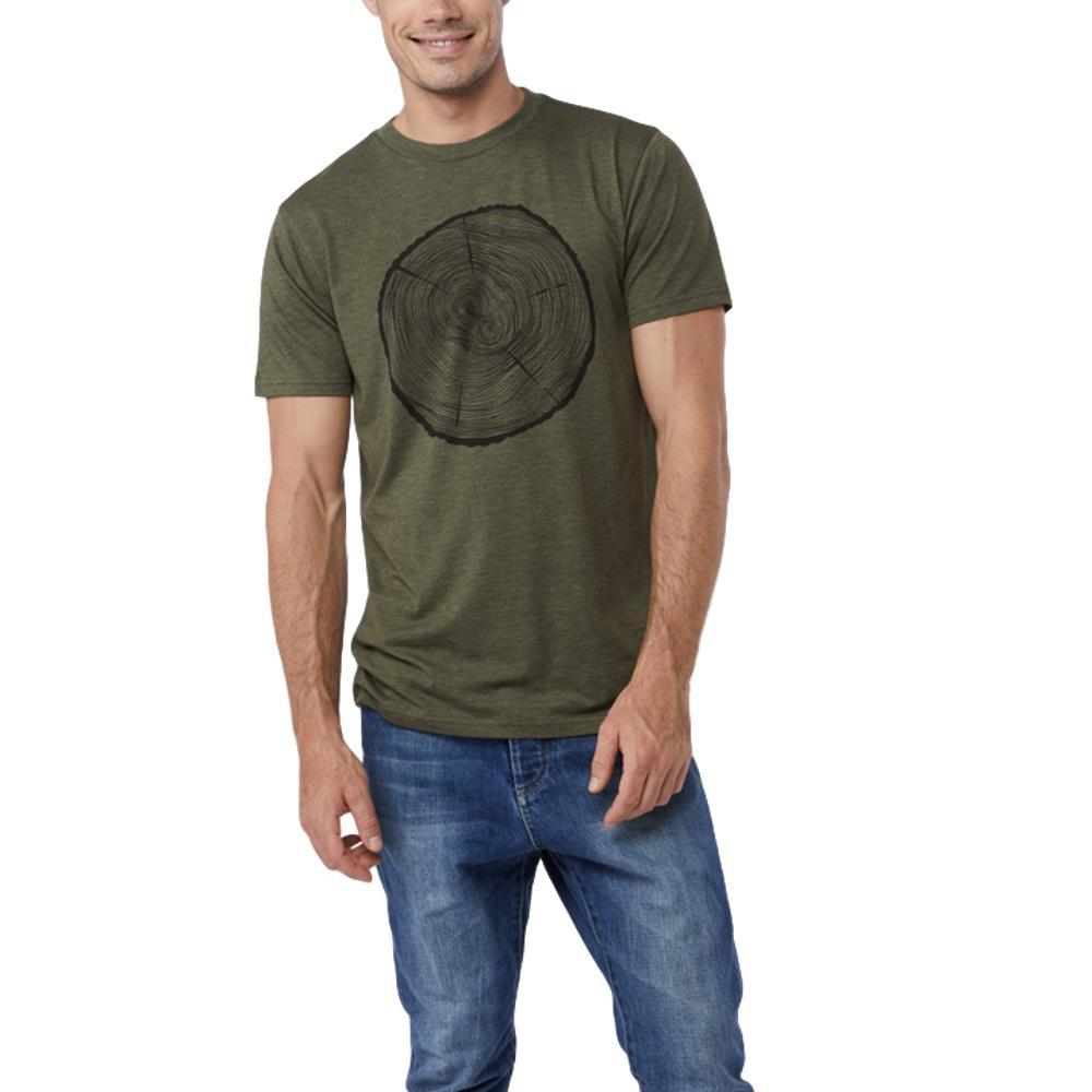 tentree Men's Master Tee OLIVENT_GRN