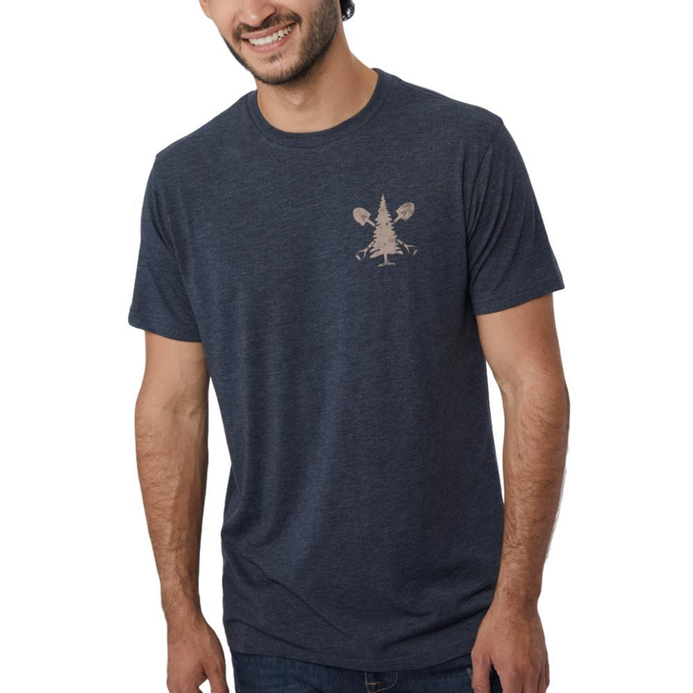 tentree Men's Support Tee OUTERSP_BLU