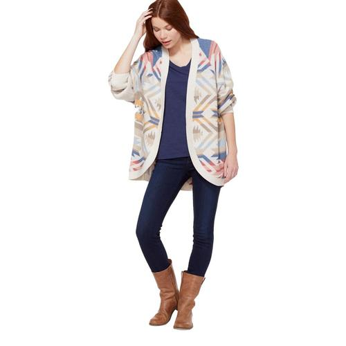 Pendleton Women's White Sands Cocoon Cardigan