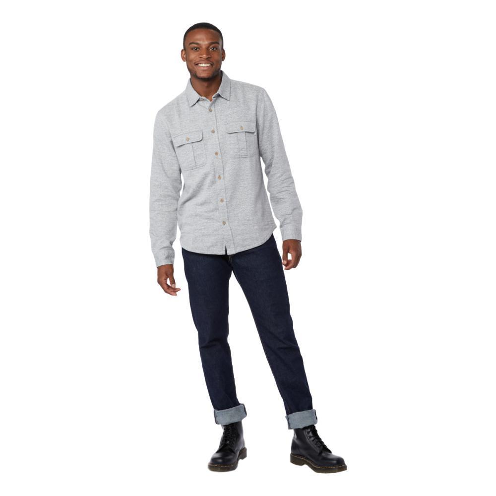 tentree Men's Arthur Button Up LUNARROCK