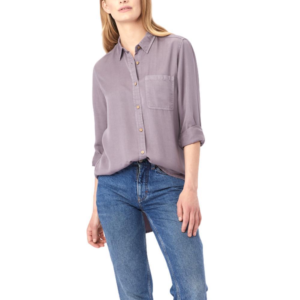 tentree Women's Fernie Button Up SHARK