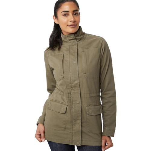 tentree Women's Node Jacket Olivenight