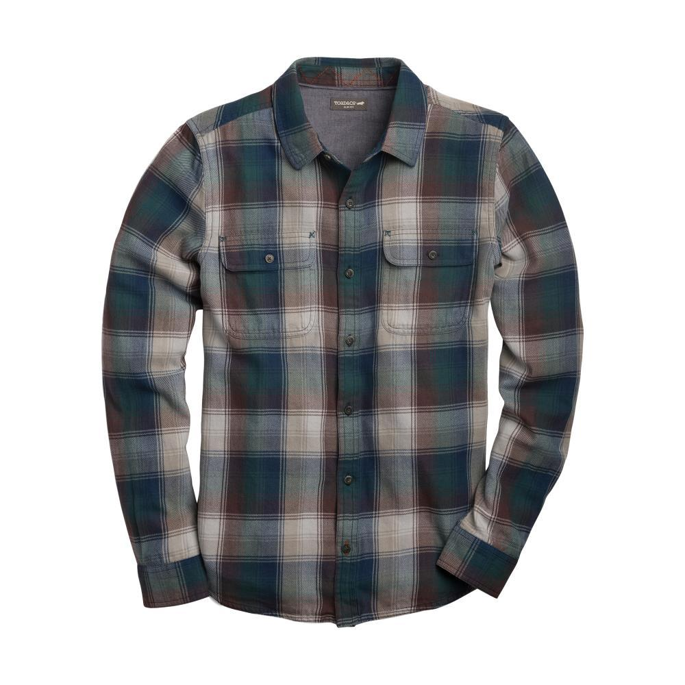 Toad & Co Men's Indigo Flannel Slim Long Sleeve Shirt