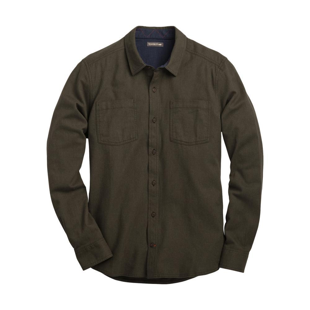 Toad&Co Men's Flannagan Solid Long Sleeve Shirt RUSTICOLIVE