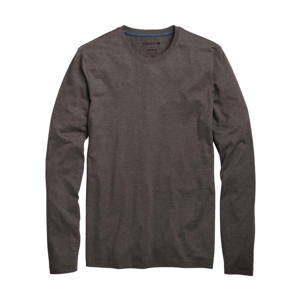 Toad&Co Men's Tempo Slim Long Sleeve Tee CHARCOAL