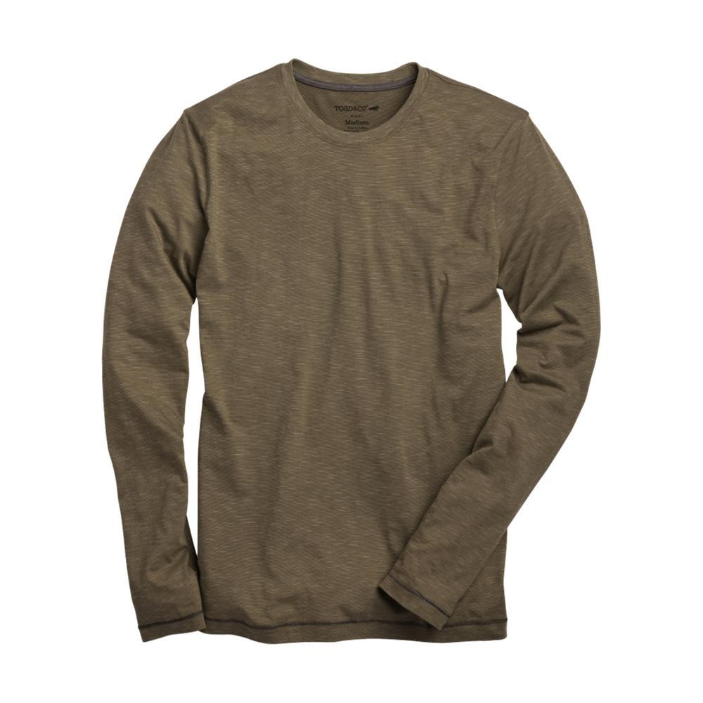 Toad&Co Men's Tempo Slim Long Sleeve Tee RUSTICOLIVE
