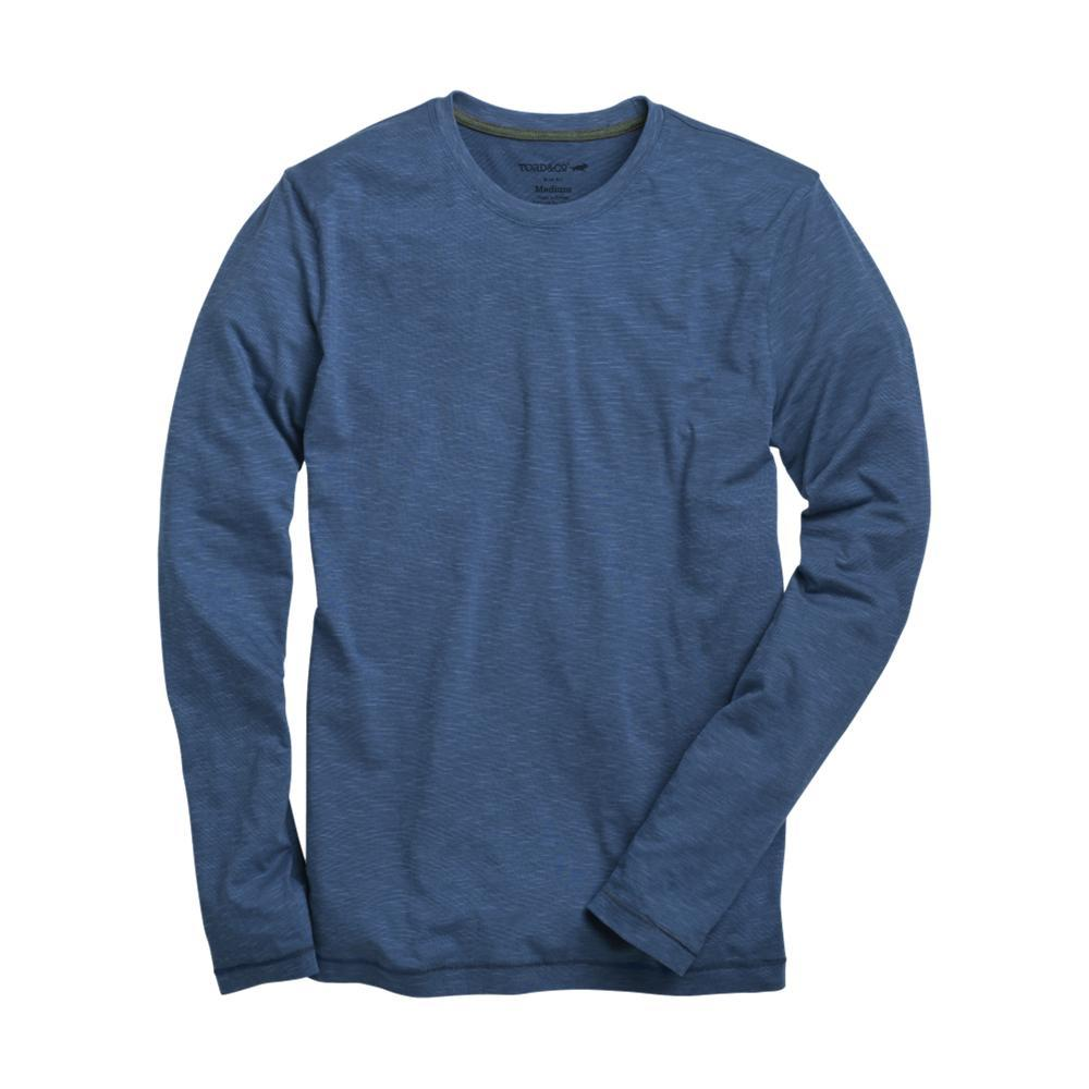 Toad&Co Men's Tempo Slim Long Sleeve Tee TRUEBLUE