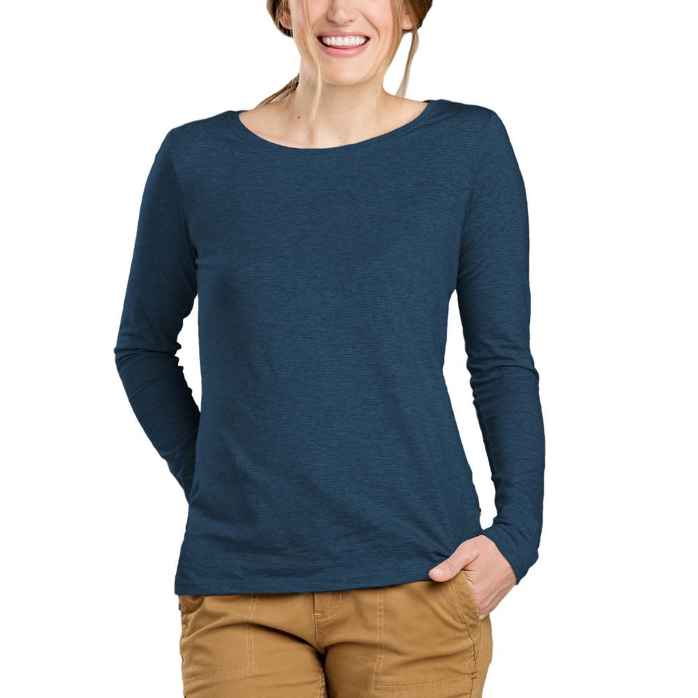 Toad&Co Women's Sia Long Sleeve Tee BLWINGTEAL
