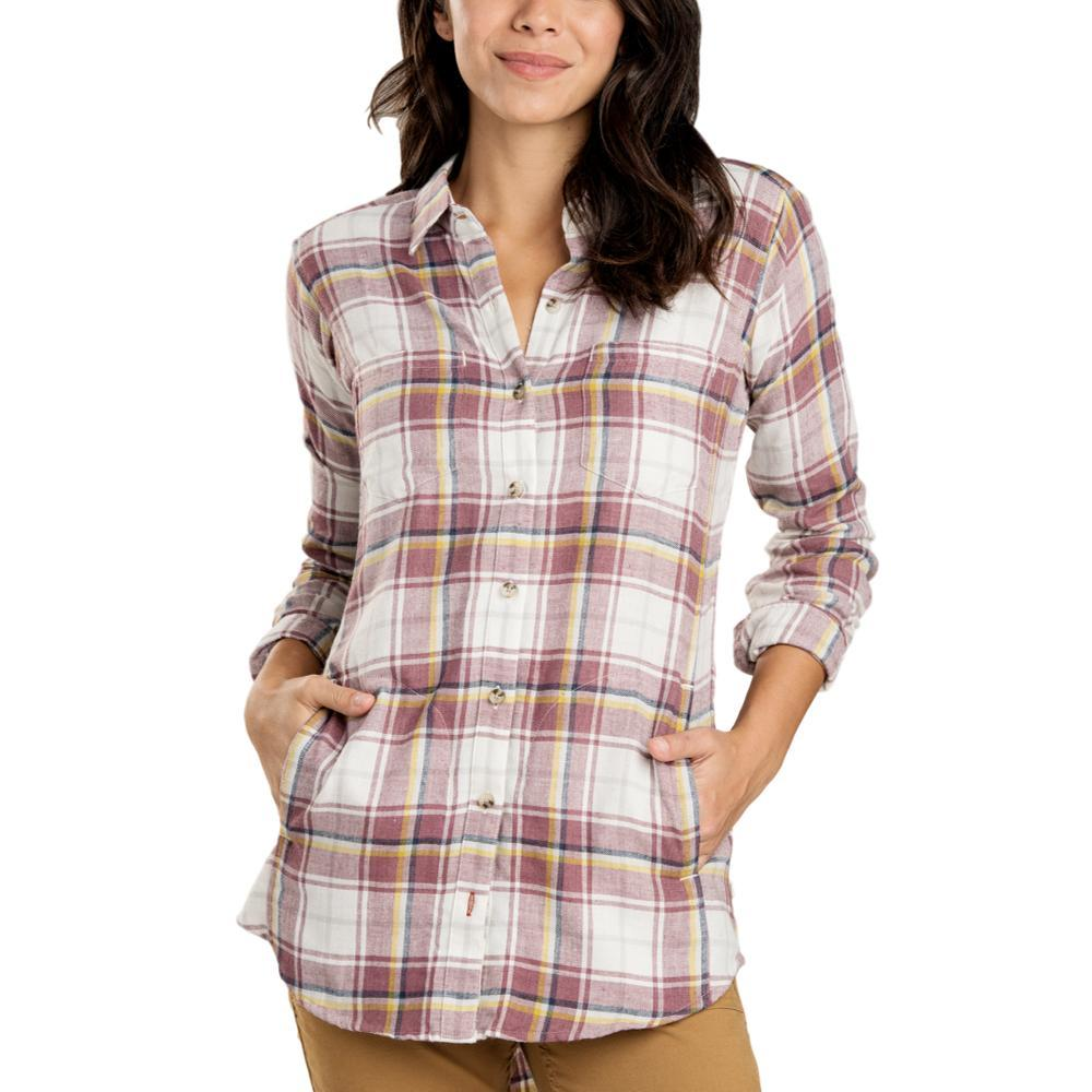 Toad&Co Women's Cairn Long Sleeve Shirt MAUVE
