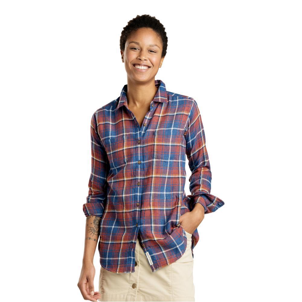 Toad&Co Women's Cairn Long Sleeve Shirt REDWOOD